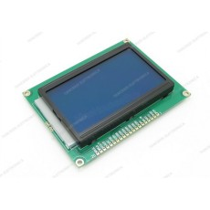 Display lcd 128x64 con retroilluminazione blu