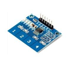 Modulo tastiera capacitativa a 4 tasti TTP224