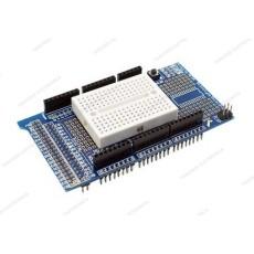 Prototype shield per Arduino Mega 2560 / Mega ADK con breadboard 170 punti