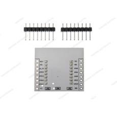 Adattatore per moduli ESP8266 ESP-07 ESP-08 ESP-12E