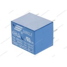 Relè di potenza da circuito stampato a 1 scambio - 12Vcc 10A
