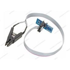 Adattatore clip test per integrati DIP8