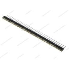 Connettore a striscia tornito femmina da circuito stampato divisibile - 40 poli