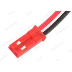 Connettore JST maschio a 2 pin con cavo da 10cm