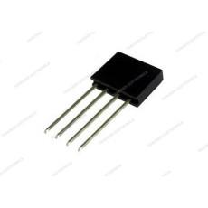 Connettore a striscia femmina da circuito stampato con contatti lunghi a 4 poli