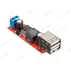 Convertitore DC-DC step-down con doppia uscita USB 5V 3A