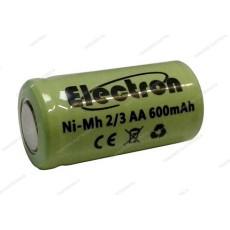 Batteria Ni-Mh 2/3 AA 1,2V 600mAh