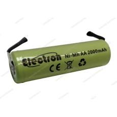 Batteria Ni-Mh Stilo 1,2V 2000mAh con terminali a saldare