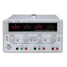 Alimentatore da laboratorio Twintex TP-2303TK. Uscite 0-30V 0-3A x2 - 5V 3A 1x