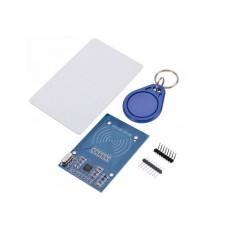 Lettore RFID con portachiavi e card - compatibile RC522 MFRC-522
