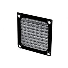 Griglia di protezione con filtro in alluminio per ventola 80x80