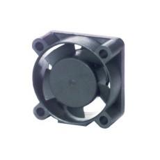 Ventola 12Vcc 25x25x10 in materiale termoplastico su cuscinetti