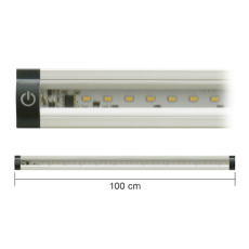 Barra a led 100cm 10W 3000K con interruttore