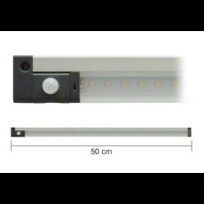 Barra a led 50cm 5W 3000K con sensore PIR