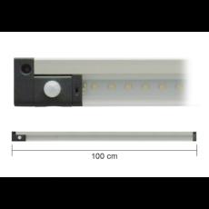 Barra a led 100cm 10W 3000K con sensore PIR
