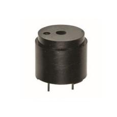 Mini buzzer piezoelettrico da circuito stampato con circuito oscillatore interno diametro 16mm 9-15V