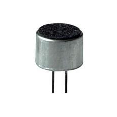 Capsula microfonica a condensatore omnidirezionale 9,7x6,5mm da circuito stampato