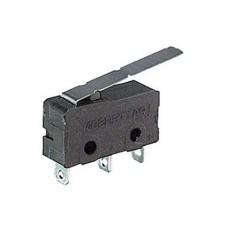 Deviatore finecorsa in miniatura con leva e con terminali a saldare - 125V 3A
