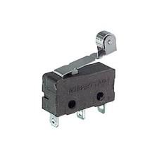 Deviatore finecorsa in miniatura con leva e rotella e con terminali a saldare - 250V 5A