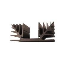 Dissipatore termico non forato - resistenza termica 4,5°C/W - lunghezza 40mm