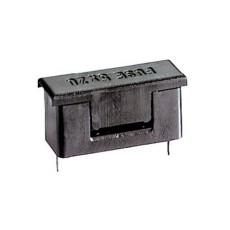 Portafusibile da circuito stampato per fusibili 5x20 con coperchio di protezione