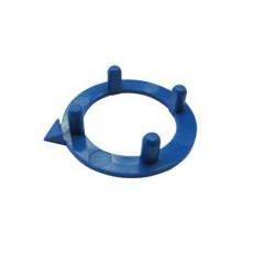 Ghiera con indice per manopole componibili diametro 15mm - blu