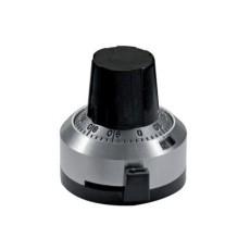 Manopola micrometrica analogica grigia - diametro 22mm