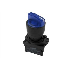 Selettore luminoso con leva a due posizioni fisse - Blu