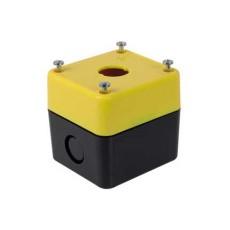 Contenitore portafrutto per selettori e interruttori diametro 22mm - 1 posto