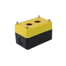Contenitore portafrutto per selettori e interruttori diametro 22mm - 2 posti