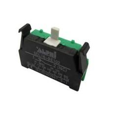 Elemento di contatto per pulsanti e selettori diametro 22mm - N/A