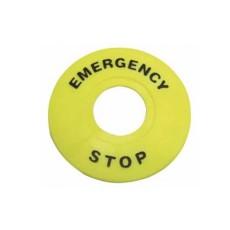 Protezione circolare per pulsanti di emergenza diametro 90mm