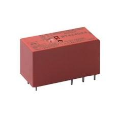 Rele' di potenza da circuito stampato a 2 contatti c/o in scambio - 24Vcc 8A