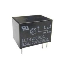 Rele' di segnale in miniatura da circuito stampato a 1 scambio - 6Vcc 2A