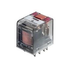 Rele' in miniatura di potenza a 3 contatti c/o in scambio - 24Vca 10A