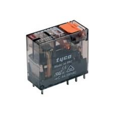 Rele' interface plug-in di potenza a 1 contatto c/o in scambio - 24Vca 16A