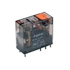 Rele' interface plug-in di potenza a 2 contatti c/o in scambio - 24Vca 8A