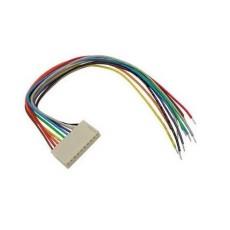 Connettore femmina 6 poli con cavetti 20 cm