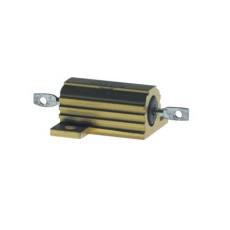 Resistenza a filo corazzata con radiatore metallico - 25W 0,22 Ohm