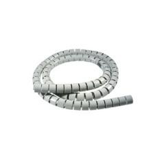 Spirale copricavo nera diametro 25mm lunghezza 20mt