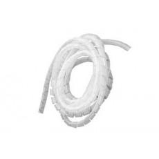Spirale copricavo grigia diametro 7,5mm lunghezza 10mt