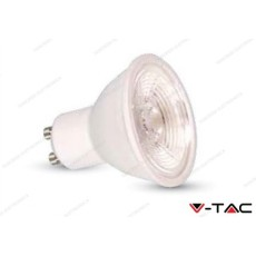 Faretto led V-TAC GU10 7W dimmerabile - 4500k bianco naturale - VT-2886D