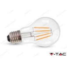 Lampadina led V-TAC A60 4W - attacco E27 - 2700k bianco caldo - VT-1885