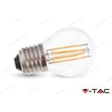 Lampadina led V-TAC G45 4W - attacco E27 - 2700k bianco caldo - VT-1980