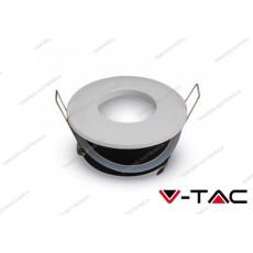 Portafaretto da incasso rotondo V-TAC VT-787 matt bianco Ø84 mm