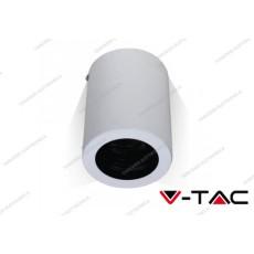 Portafaretto orientabile V-TAC VT-796 rotondo bianco 142 x 100 mm