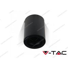 Portafaretto orientabile V-TAC VT-796 rotondo nero 142 x 100 mm
