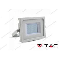 Faro LED V-TAC VT-4933 bianco SMD luce bianco freddo 30W