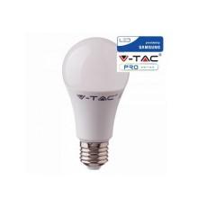 Lampadina led V-TAC A60 9W chip samsung - attacco E27 - 4000k bianco naturale - VT-210